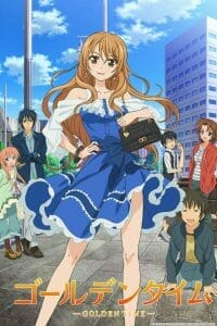 Golden Time Anime Visual