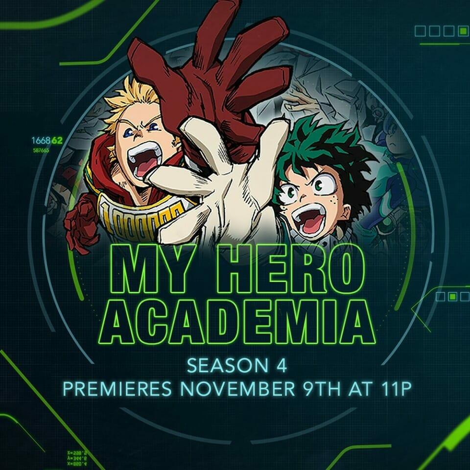 My Hero Academia Season 4 - Toonami Visual