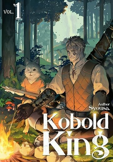 Kobold King Light Novel Volume 1 Cover