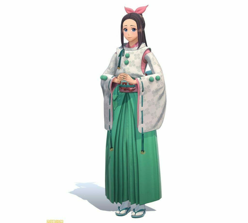 Project Sakura Wars Character Visual - Hinata Amamiya