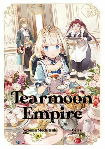 Tearmoon Empire Light Novel Volume 1 Cover