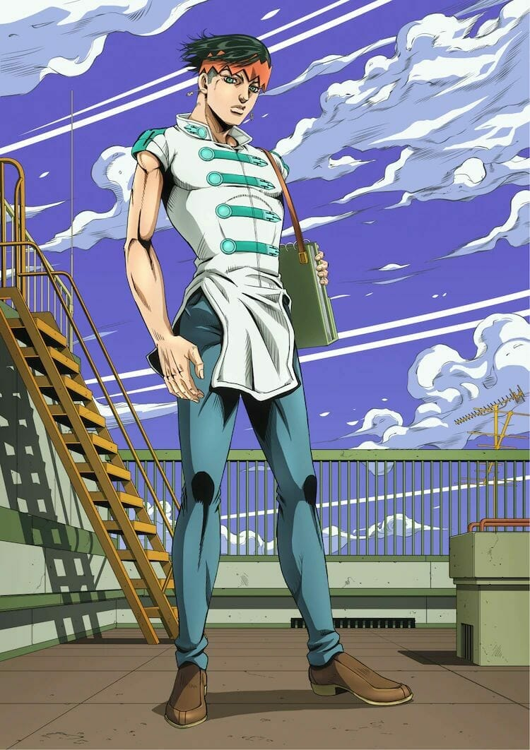Thus Spoke Kishibe Rohan Part 4 Visual