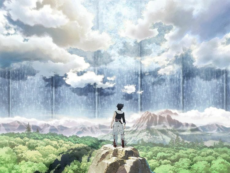 Back Arrow Anime Visual
