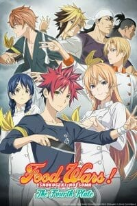 Food Wars The Fourth Plate Anime Visual