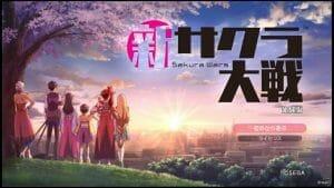 Project Sakura Wars - Demo TitleS