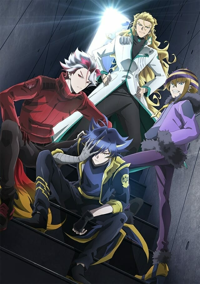 Show By Rock Mashumairesh Anime Band Visual - Dokonjofinger
