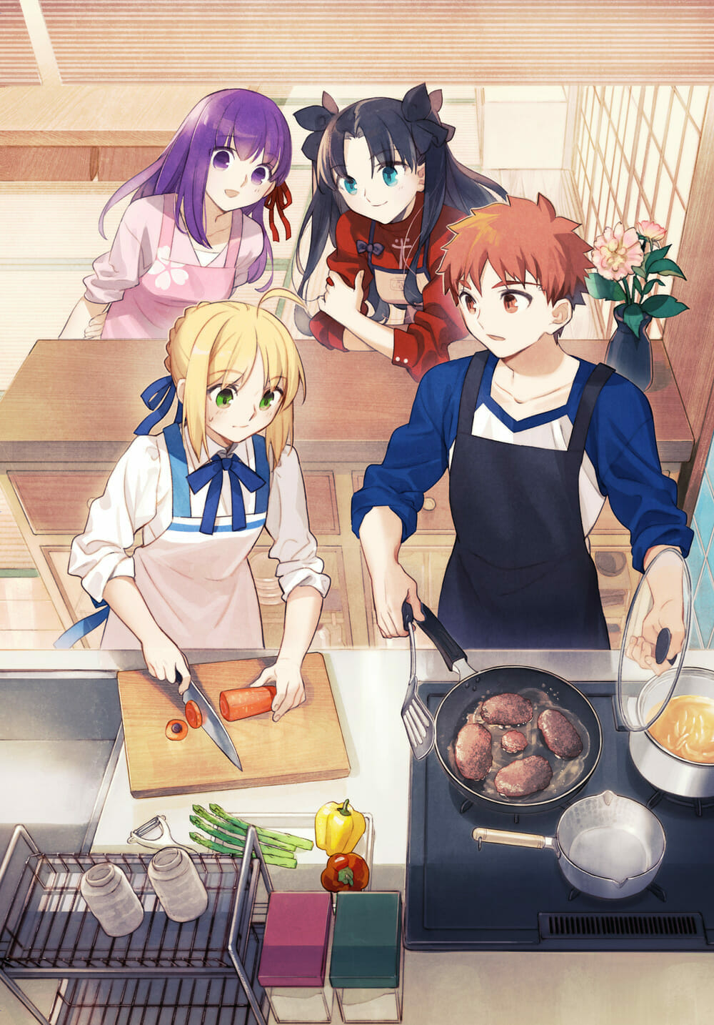 Todays Menu For Emiya Family Switch Visual