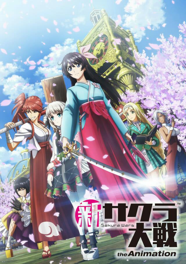 Sakura Wars (2019) Anime Key Visual