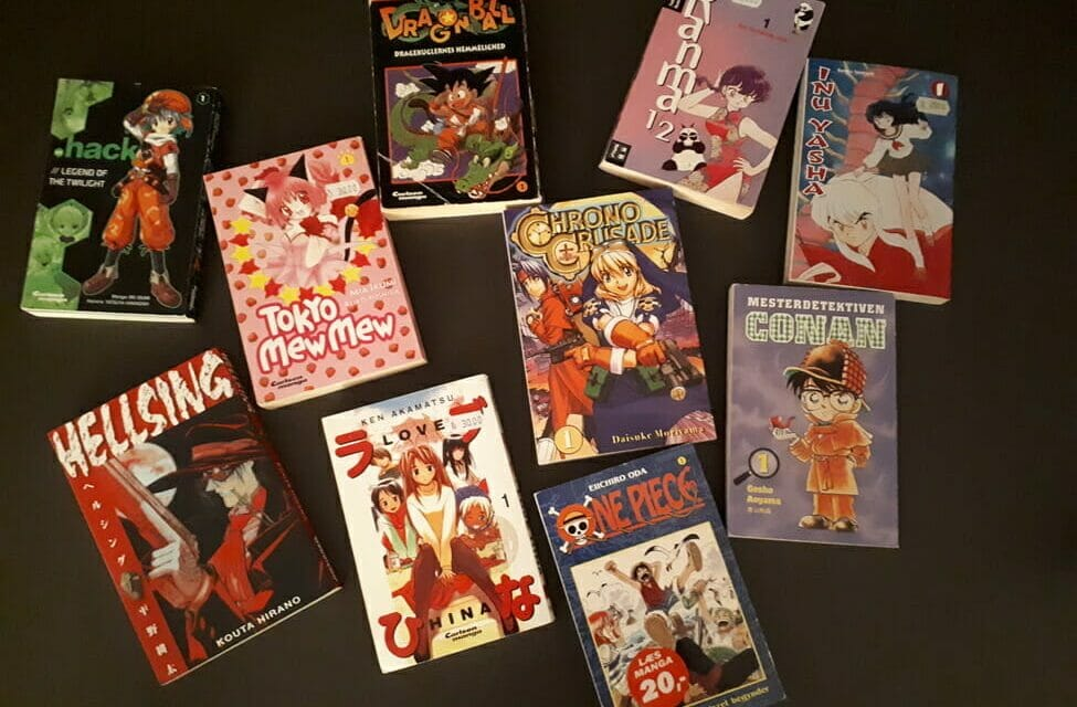 A Brief History of Denmark's Manga Industry