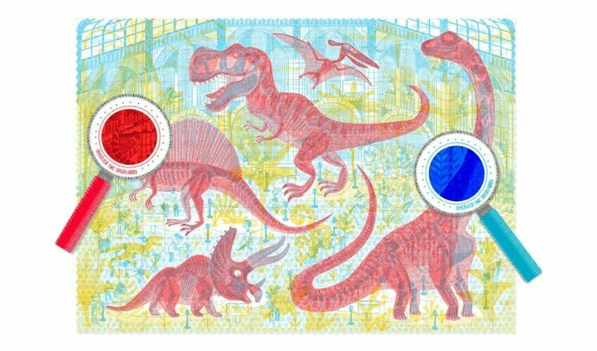 """""""Discover the Dinosaurs"""" jigsaw puzzle"""