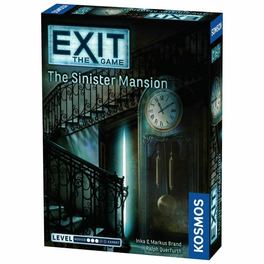 """Exit"" board game box art"