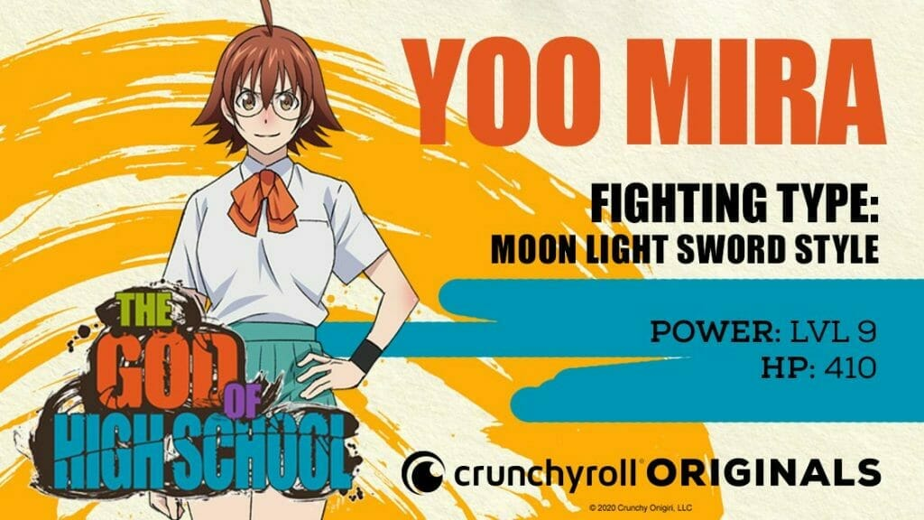 God of High School Character Visual - Mira Yoo