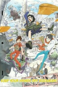 Keep Your Hands off Eizouken! Anime Key Visual