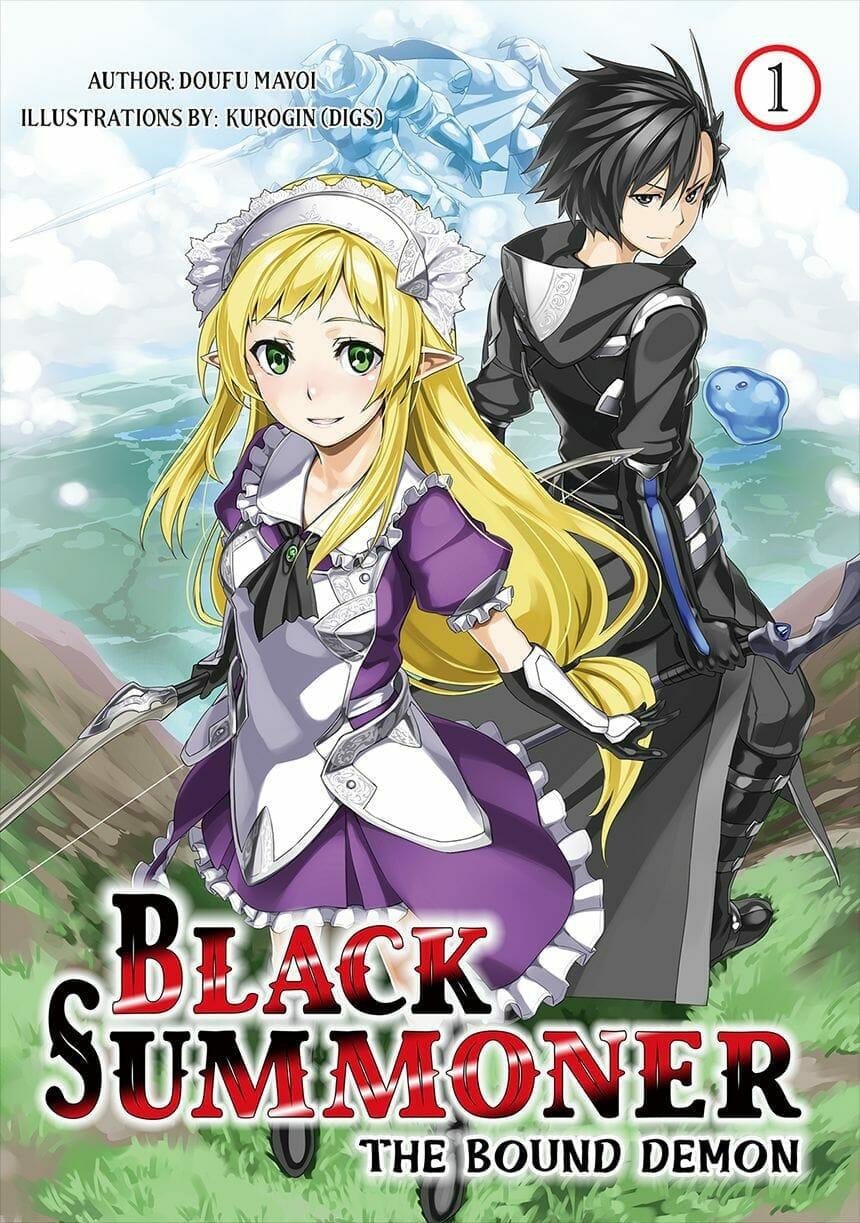 Black Summoner Novel Volume 1 Cover