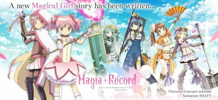 Magia Record English Promo Still