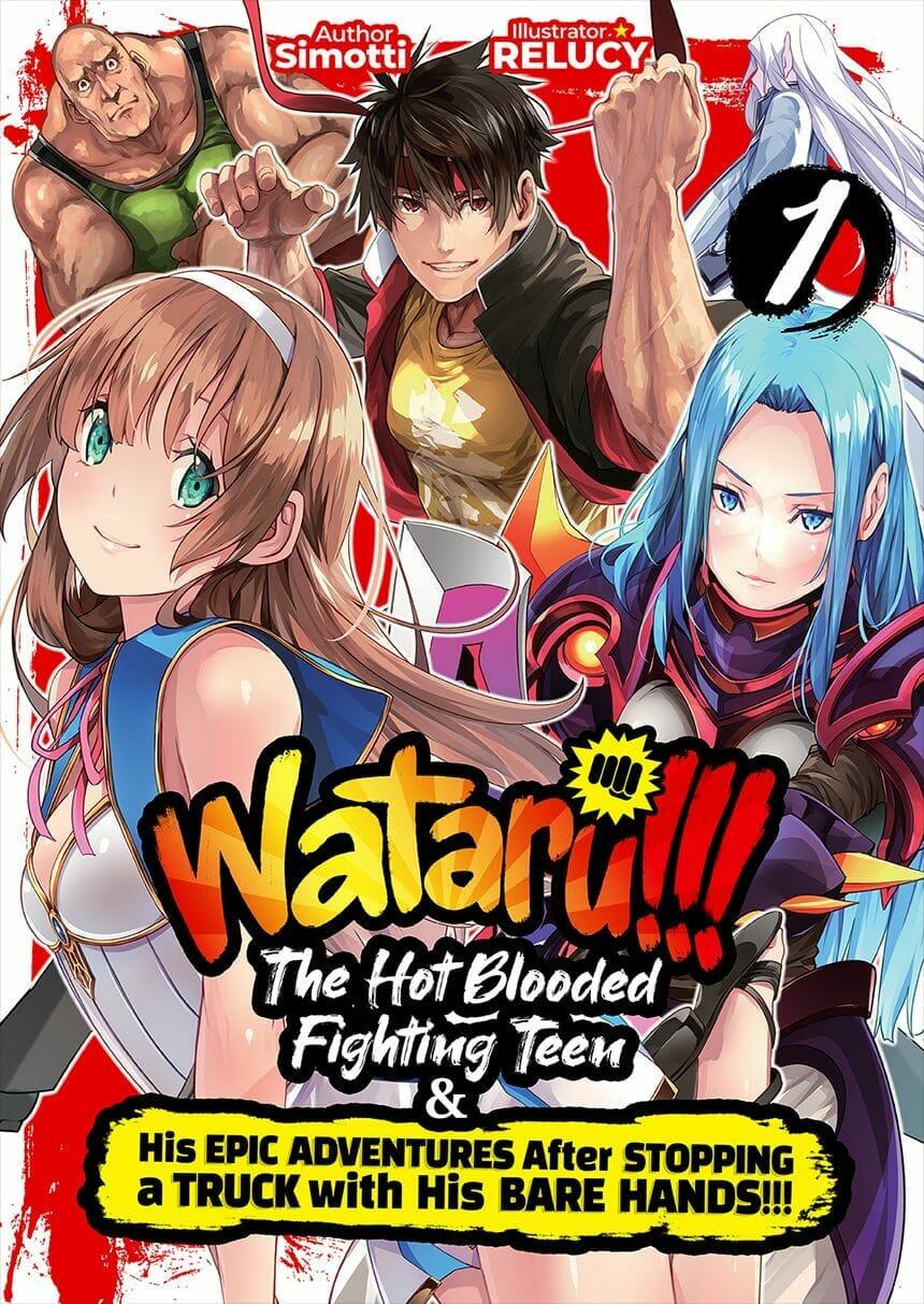 Wataru Novel Volume 1 Cover